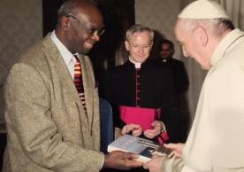 Professor Lamin Sanneh and Pope Francis