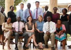 The Uganda Initiative for Integrated Management of Non-Communicable Diseases team